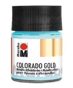 Marabu Colorado Gold, 50 ml, Blau-Silber Metallic-Effektfarbe