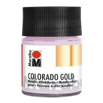 Marabu Colorado Gold, 50 ml, Metallic Flieder-Silber