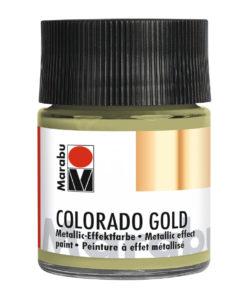 Marabu Colorado Gold, 50 ml, Metallic-Grüngold