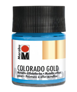 Marabu Colorado Gold, 50 ml, Metallic-Hellblau