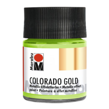 Marabu Colorado Gold, 50 ml, Metallic-Hellgrün