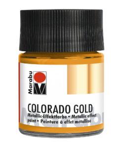 Marabu Colorado Gold Metallic-Effektfarbe, Metallic-Orange