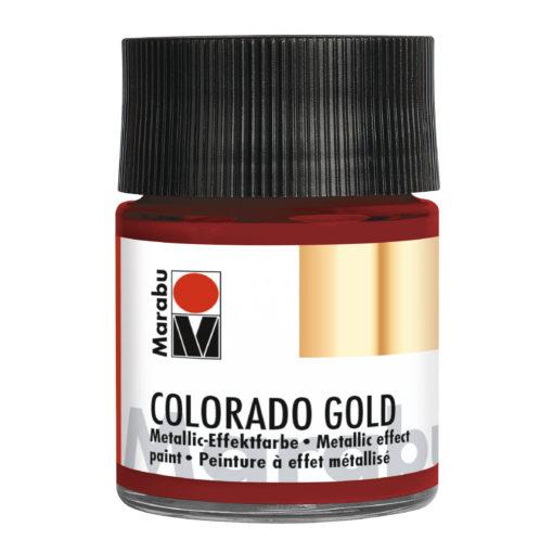 Marabu Colorado Gold Metallic-Effektfarbe, Metallic-Rot