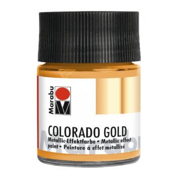 Marabu Colorado Gold 50 ml, Metallic-Rotgold Effektfarbe