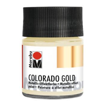 Marabu Colorado Gold, 50 ml, Metallic-Satin, Metallic-Effektfarbe