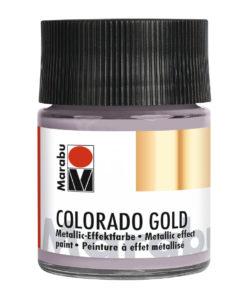 Marabu Colorado Gold, 50 ml, Metallic-Zink, Metallic-Effektfarbe