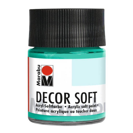 Marabu Decor Soft Acrylfarbe, Agave, 50 ml