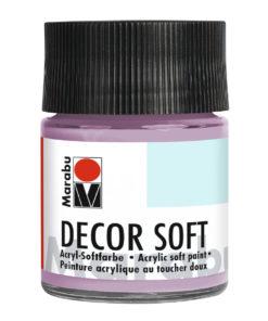 Marabu Decor Soft Acrylfarbe, Amethyst, 50 ml