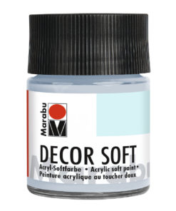 Marabu Decor Soft Acrylfarbe, Blaugrau hell, 50 ml