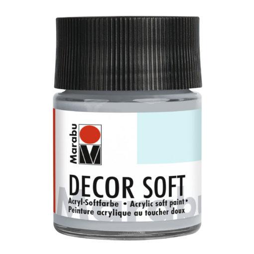Marabu Decor Soft Acrylrfarbe, Hellgrau, 50 ml