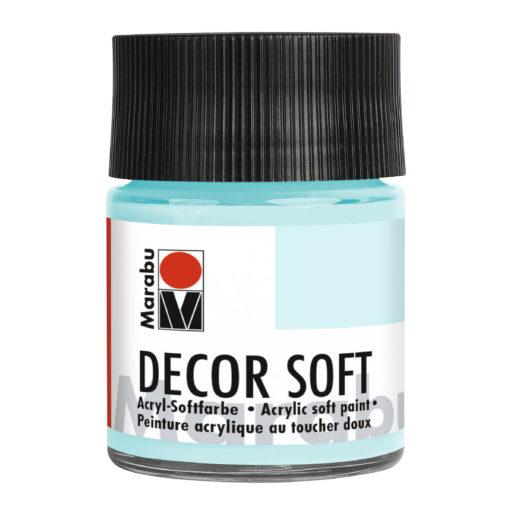 Marabu Decor Soft Acrylfarbe, Lagune, 50 ml
