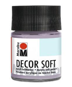 Marabu Decor Soft Acrylfarbe, Puder, 50 ml