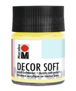 Marabu Decor Soft Effektfarbe, Zitron, 50 ml