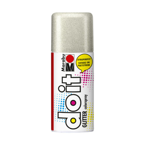 Marabu do it Colorspray, Glitter, styroporfestes Farbspray