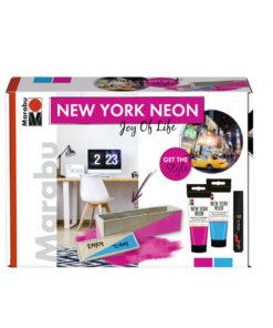 Marabu Farbenset, New York Neon, Joy of Live