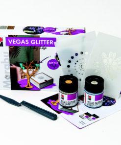 Marabu Farbenset, Vegas Glitter, City Life