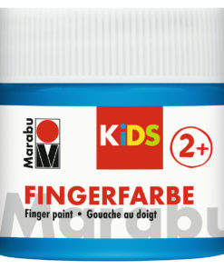 Marabu Fingerfarbe Kids, 253 Blau, 100 ml