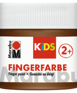 Marabu Fingerfarbe Kids, 285 Braun, 100 ml