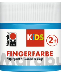 Marabu Fingerfarbe Kids, 090 Hellblau, 100 ml