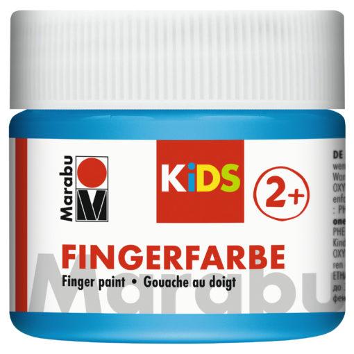 Marabu Fingerfarbe Kids, 090 Hellblau, 100 ml