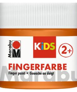 Marabu Fingerfarbe Kids, orange, 100 ml