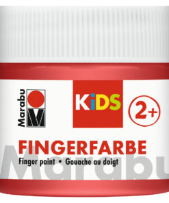 Marabu Fingerfarbe Kids, 232 Rot, 100 ml