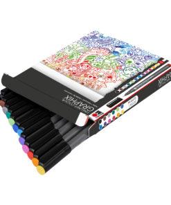 Marabu Fineliner Colour Graphix-Set, 12 Stifte