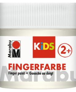 Marabu Fingerfarbe Kids, weiß, 100 ml