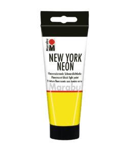 Marabu Tagesleuchtfarbe New York NEON, Neon-Gelb, 100 ml
