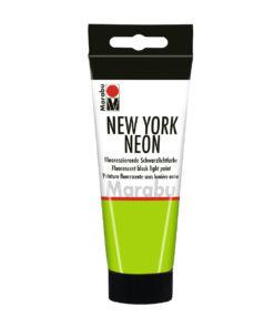 Marabu Tagesleuchtfarbe New York NEON, Neon-Grün, 100 ml
