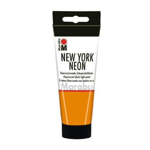 Marabu Tagesleuchtfarbe New York NEON, Neon-Orange, 100 ml