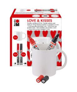 Marabu Love & Kisses Cup im Set