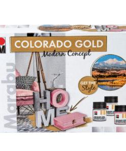 Marabu Farbenset, Colorado Gold, Modern Concept