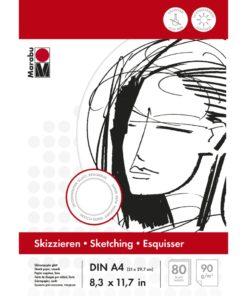 Marabu Skizzenblock DIN A4