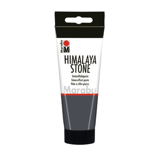 Marabu Steineffektpaste Himalaya Stone, Beton dunkel, 100 ml