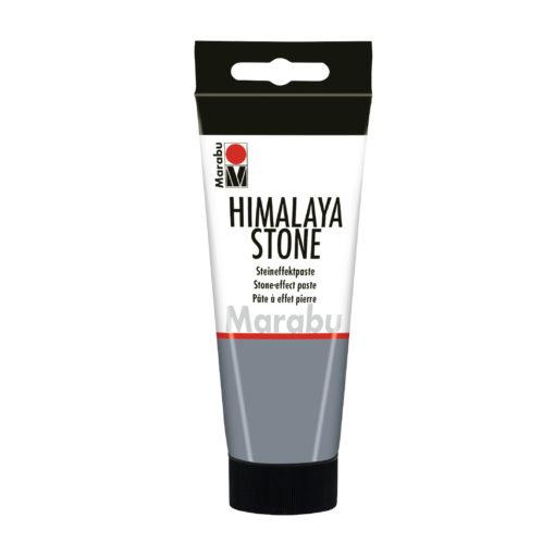 Rayher Steineffektpaste Himalaya Stone, Steingrau, 100 ml