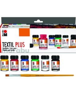 Marabu Textil Plus, Starterset für Stoffmalerei