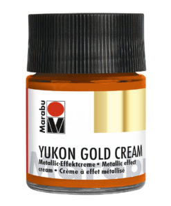 Marabu Metallic-Effektcreme, Yukon Gold Cream, Metallic-Kupfer, 50 ml