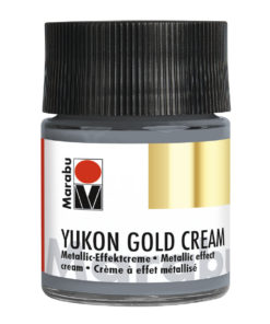 Marabu Metallic-Effektcreme, Yukon Gold Cream, Palladium, 50 ml