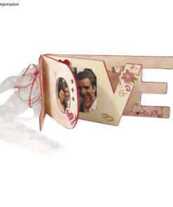 Pappmaché-Buch LOVE zum Gestalten