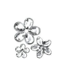 Rayher Acryl-Strassblüten kristall