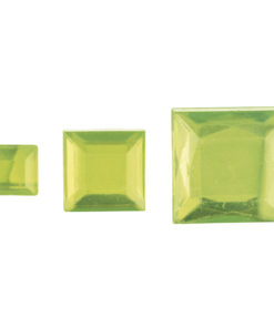 Rayher Acryl-Strassquadrate hellgrün