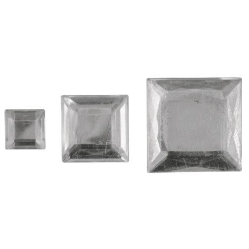 Rayher Acryl-Strassquadrate kristall