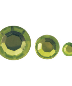 Rayher Acryl-Strasssteine hellgrün, zum Kleben