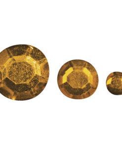 Rayher Acryl-Strasssteine orange, zum Kleben