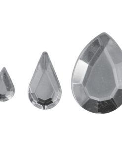 Rayher Acryl-Strasstropfen kristall, zum Kleben