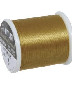 Rayher Aufreihgarn für Delica-Rocailles, gold, 0,27mm Ø