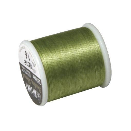Rayher Aufreihgarn für Delica-Rocailles, maigrün, 0,27mm Ø