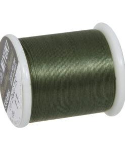 Rayher Aufreihgarn für Delica-Rocailles, olive, 0,27mm Ø
