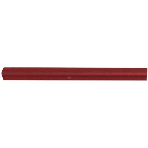 Böhmische Glas-Stifte, rot matt